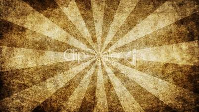 brown grungy rays loop background