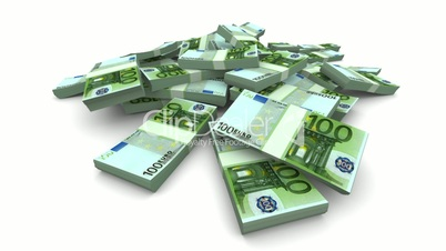 Falling Euro Packs - Realistic