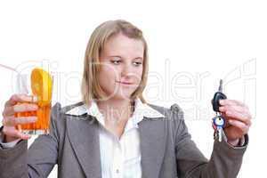 Kein Alkohol am Steuer