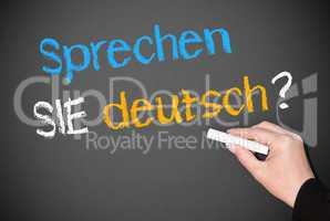 Sprechen SIE deutsch ?