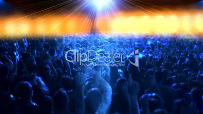 concert crowd dance