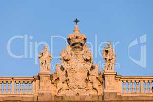 Royal Palace in Madrid Architectural Details