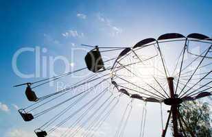Carousel against sky
