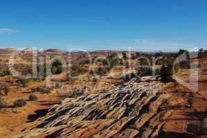 Rocks, desert and mountains, Grand Stair Escalante National Monument, Utah