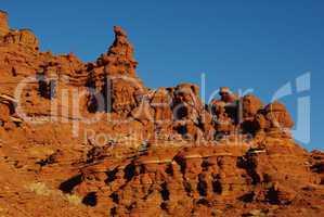 Rock formations near Hurrah Pass, Moab, Utah