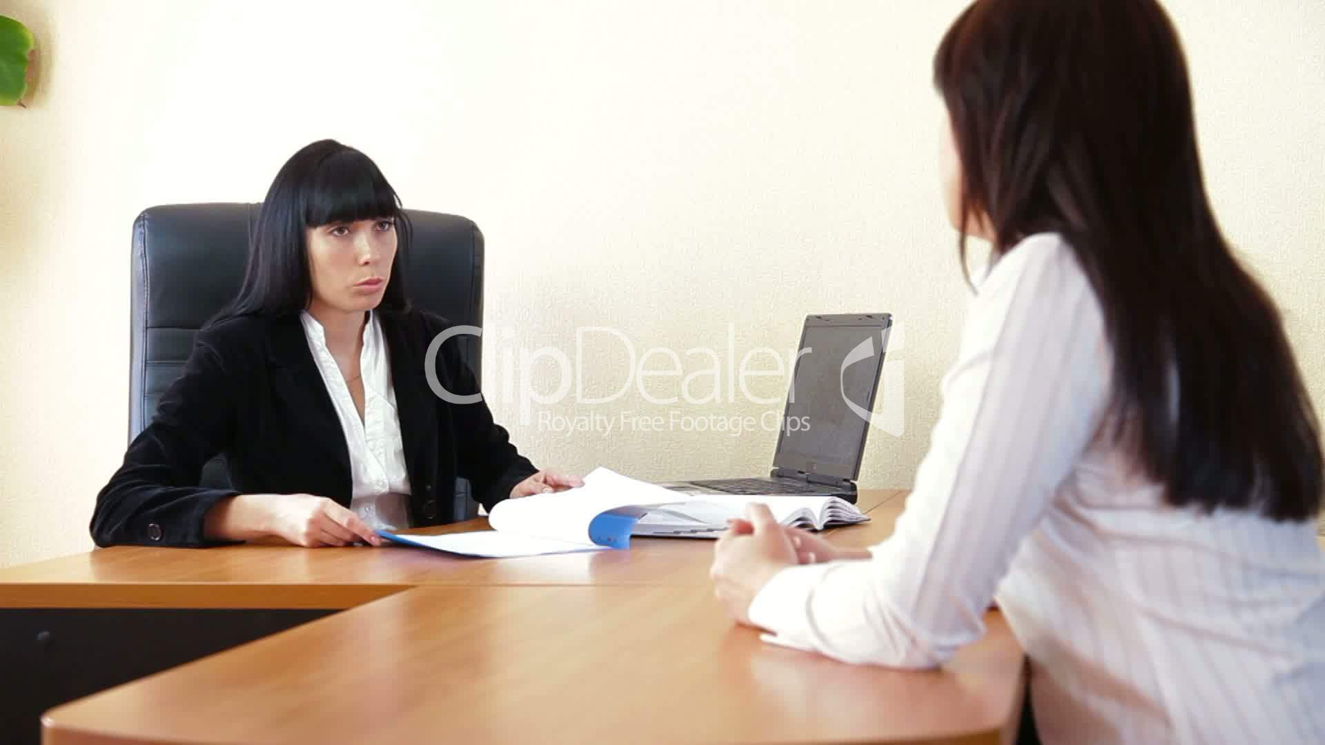 Job Interview Royalty Free Video And Stock Footage