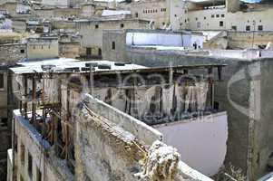 Marokko Fes Gerberei