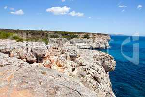 mediterranean sea landscape balearic island mallorca