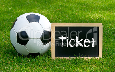 fussball ticket - soccer ticket