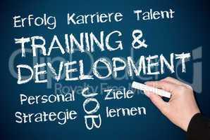 Training und Development - deutsch