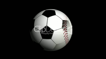 Sports Ball, with Alpha Channel - HD1080