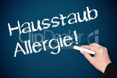 Hausstaub Allergie !