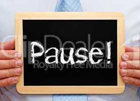 Pause !