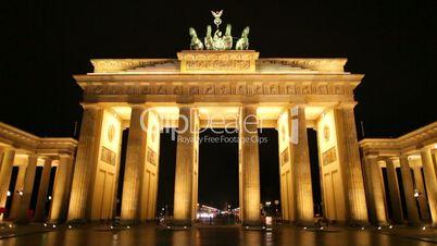Brandenburger Tor 1080p HD with Blur (Brandenburg Gate), famous landmark in Berlin, Germany