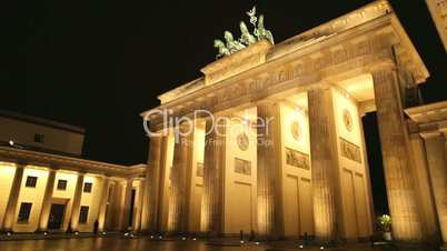 Brandenburger Tor 1080p HD (Brandenburg Gate), famous landmark in Berlin, Germany