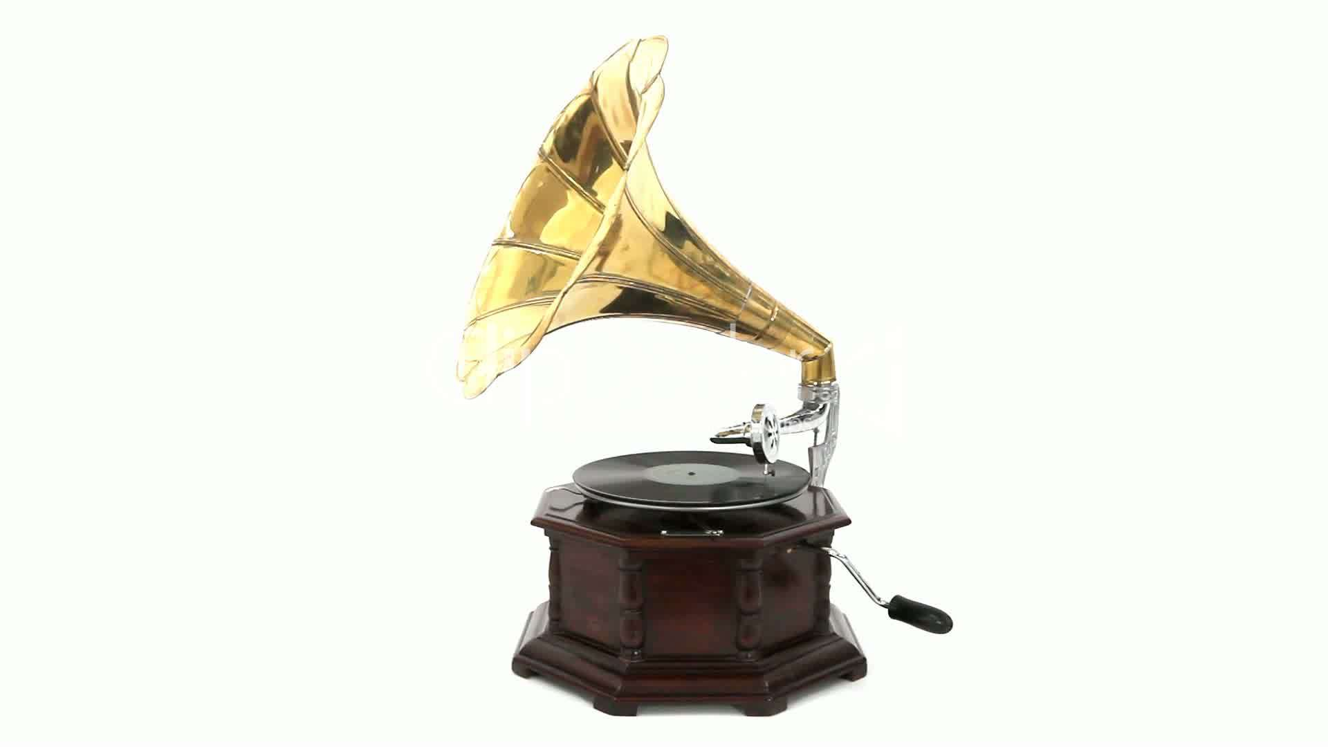 Vintage Gramophone Royalty Free Video And Stock Footage