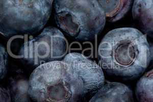 Heap of blueberry