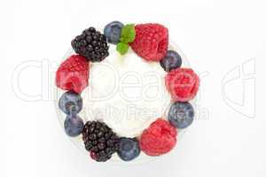 Circle of berries