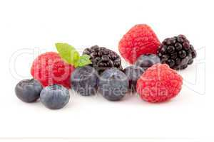 Choice of berries