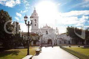 Iglesia Pilar Church in Buenos Aires Argentina