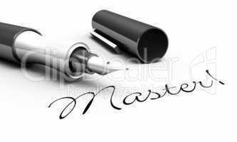 Master! - Stift Konzept