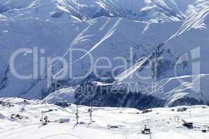 Views of ski resort