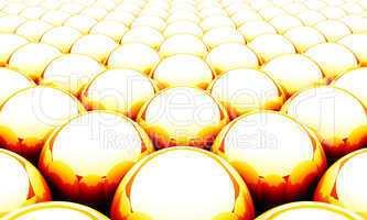 Kugel Matrix Hintergrund - Orange Rot Weiß 04