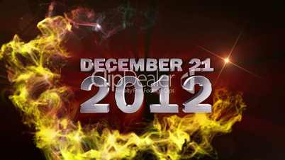 DECEMBER 21 2012 Text in Particle (Double Version) - HD1080