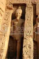 Ramses II at Abu Simbel in Egypt
