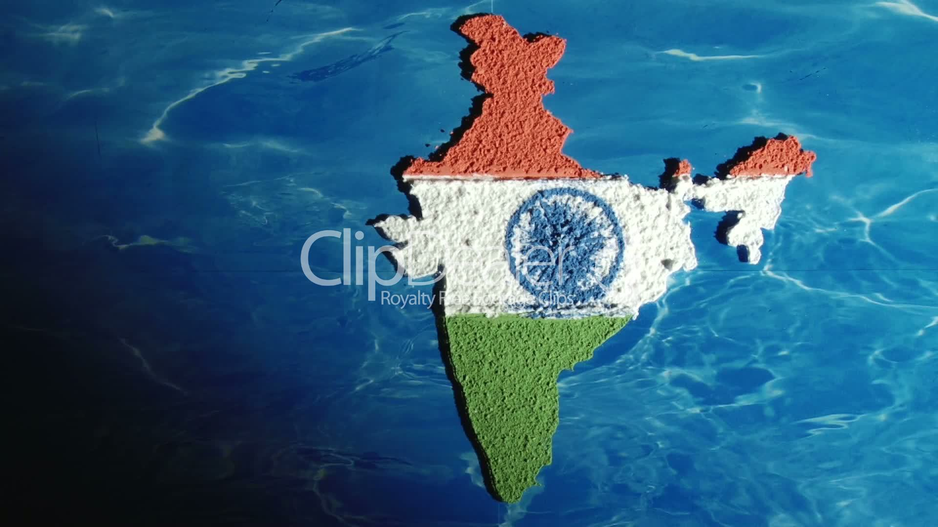 India map and flag royalty free video and stock footage india isolated landmark map gumiabroncs Gallery