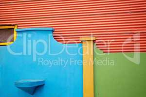 The colourful buildings of La Boca Buenos Aires Argentina