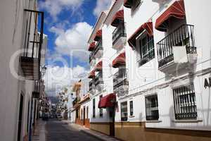 Apartment Houses in Nerja Town