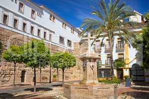 Plaza de la Iglesia in Marbella