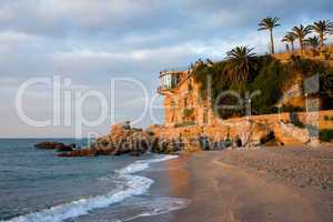 Nerja Beach and Balcon de Europa