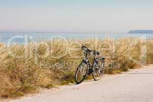 fahrrad am meer, bike at the sea