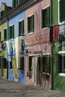Burano an island near Venice Italy