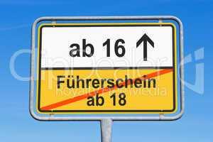 Führerschein ab 16