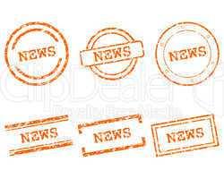 News Stempel
