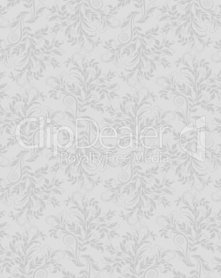 Elegant decorative floral seamless pattern