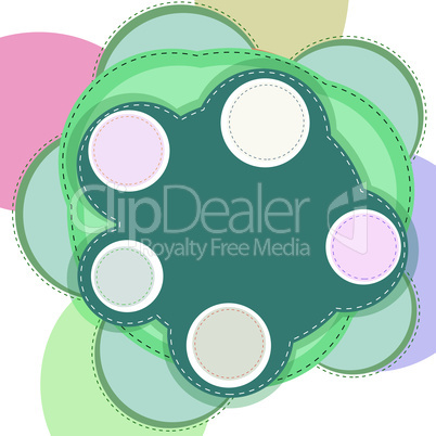 Website abstract template. vector abstract creative background