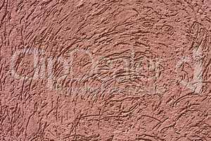 Textured exterior wall