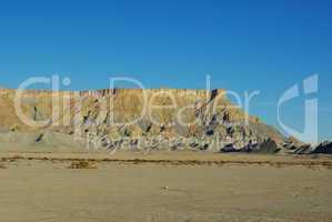 Sandstone formations near Factory Butte, Utah