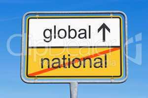national und global