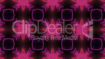 pink star disco background