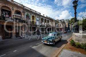 Havana, Cuba - on June, 7th. Havana city, 7th 2011.