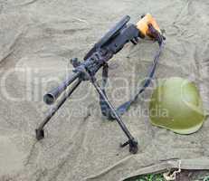 Soviet machine gun - Degtyaryov DP-28