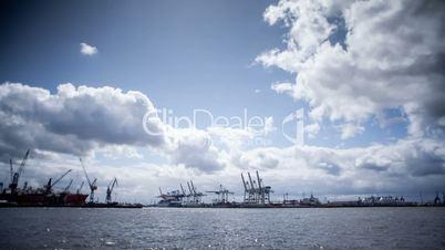 Hamburg dockside