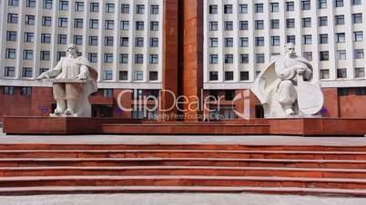 Monument In Ivano-Frankivsk, Ukraine