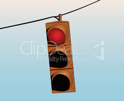 Traffic lights on the wire