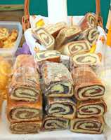 Three local variants of nut roll in Croatia